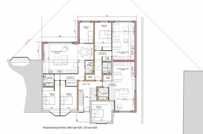 Woodcote Valley Road - Proposed Ground Floor Plans